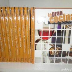 Libros de segunda mano: LA GRAN COCINA PASO A PASO - 10 VOLUMENES / COMPLETA - DISPONGO DE MAS LIBROS Y ENCICLOPEDIAS. Lote 273425833
