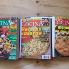Libros de segunda mano: COCINA SEMANAL AÑOS 1995 Y 1996, (3 TOMOS BIEN ENCUADERNADOS). Lote 273629718