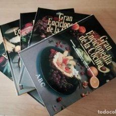 Libros de segunda mano: GRAN ENCICLOPEDIA DE LA COCINA (COMPLETA, 5 TOMOS). Lote 275446928