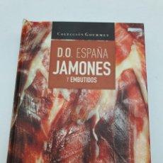Libros de segunda mano: JAMONES Y EMBUTIDOS, D.O. ESPAÑA ( VER FOTOS ). Lote 276541638