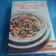 Libri di seconda mano: COMO COCINAR CON HORNO MICROONDAS, CEAC. Lote 276563023