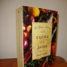 Libros de segunda mano: EL GRAN LLIBRE DE LA CUINA DE LES ÀVIES - JAUME FÀBREGA - LA MAGRANA, MOLT BON ESTAT. Lote 276678153