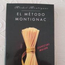 Libros de segunda mano: EL METODO MONTIGNAC, ESPECIAL MUJER, MICHEL MONTIGNAC, CIRCULO DE LECTORES. Lote 277047553