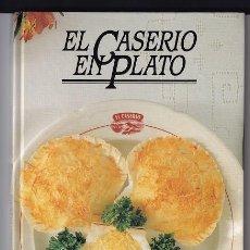 Libros de segunda mano: EL CASERIO EN PLATO · 1ª EDICIÓN: FEBRERO, 1987 · 128 PÁGINAS (PESO: 427 GRAMOS). Lote 277092813
