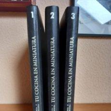 Libros de segunda mano: TU COCINA EN MINIATURA. Lote 277508548