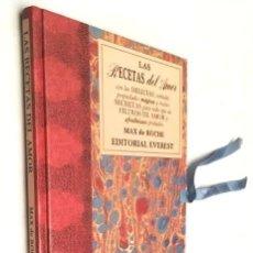 Libros de segunda mano: LAS RECETAS DEL AMOR. RECETAS SECRETAS, FILTROS DE AMOR Y AFRODISÍACOS. MAX DE ROCHE. EVEREST. Lote 277519498