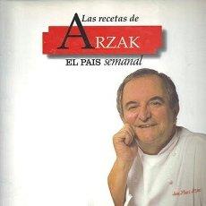Libros de segunda mano: LAS RECETAS DE ARZAK. EL PAÍS SEMANAL.. Lote 277525948