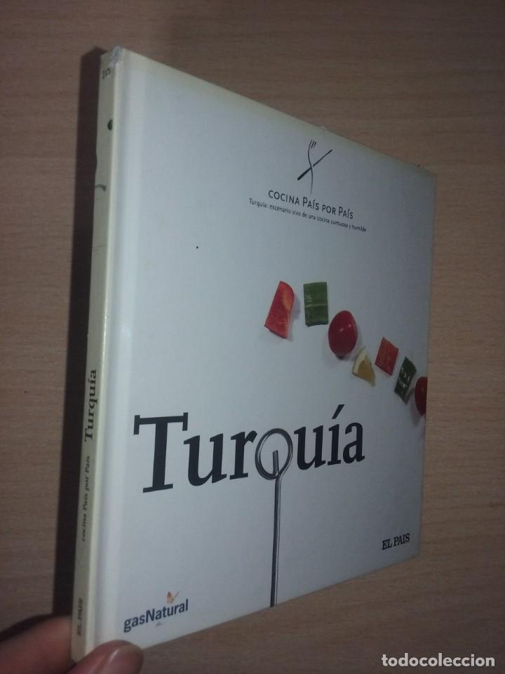 COCINA PAIS POR PAIS Nº 10 - TURQUIA (TURQUÍA: ESCENARIO VIVO DE UNA COCINA SUNTUOSA Y HUMILDE) (Libros de Segunda Mano - Cocina y Gastronomía)