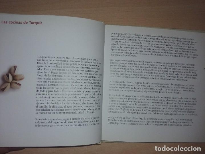 Libros de segunda mano: COCINA PAIS POR PAIS Nº 10 - TURQUIA (TURQUÍA: ESCENARIO VIVO DE UNA COCINA SUNTUOSA Y HUMILDE) - Foto 5 - 277617743