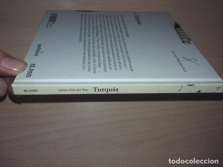 Libros de segunda mano: COCINA PAIS POR PAIS Nº 10 - TURQUIA (TURQUÍA: ESCENARIO VIVO DE UNA COCINA SUNTUOSA Y HUMILDE) - Foto 10 - 277617743