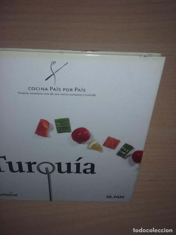 Libros de segunda mano: COCINA PAIS POR PAIS Nº 10 - TURQUIA (TURQUÍA: ESCENARIO VIVO DE UNA COCINA SUNTUOSA Y HUMILDE) - Foto 11 - 277617743