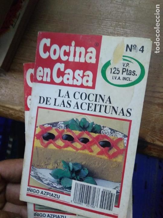 LIBRO LA COCINA DE LAS ACEITUNAS COCINA EN CASA Nº 4 ED. IRU L-2604-1563 (Libros de Segunda Mano - Cocina y Gastronomía)