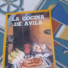 Libros de segunda mano: LA COCINA DE ÁVILA. Lote 277638468
