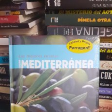 Libros de segunda mano: LAS MEJORES COCINA MEDITERRÁNEAS. Lote 277641768