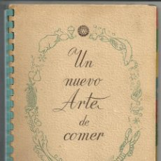 Libros de segunda mano: UN NUEVO ARTE DE COMER, WESTINGHOUSE. FRIMOTOR, BILBAO, 1958. Lote 277693688