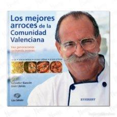 Libros de segunda mano: LOS MEJORES ARROCES DE LA COMUNIDAD VALENCIANA. Lote 277845188