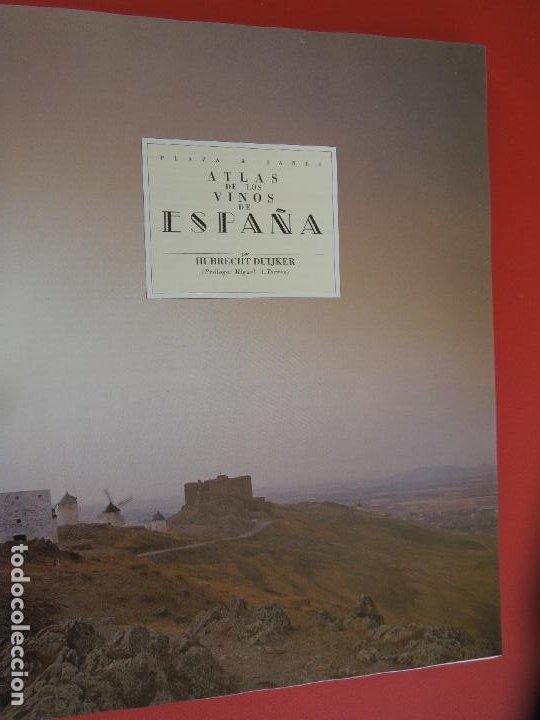 Libros de segunda mano: ATLAS DE LOS VINOS DE ESPAÑA POR HUBRECT DUIJKER - PLAZA Y JANE 1991 - Foto 3 - 278177373