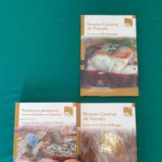 Livros em segunda mão: PRODUCTOS DE PESCADOS COMERCIALIZADOS EN CANARIAS. Lote 278273313