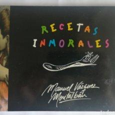 Libros de segunda mano: RECETAS INMORALES. GABRIEL GARCIA MARQUEZ. 1996. EL ENVIO ESTA INCLUIDO.. Lote 278484218