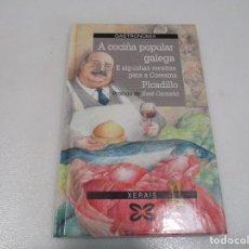 Libros de segunda mano: PICADILLO A COCIÑA POPULAR GALEGA (GALLEGO) W8461. Lote 279430763