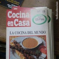 Libros de segunda mano: LIBRO COCINA EN CASA Nº 10 LA COCINA DEL MUNDO IÑIGO AZPIAZU ED. IRU L-24314-51. Lote 279448018
