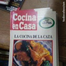 Libros de segunda mano: LIBRO COCINA EN CASA Nº 20 LA COCINA DE LA CAZA IÑIGO AZPIAZU ED. IRU L-24314-53. Lote 279448363