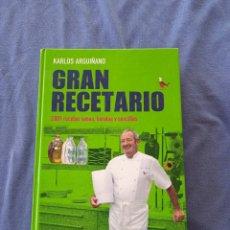 Libros de segunda mano: KARLOS ARGUIÑANO. GRAN RECETARIO.. Lote 279578783
