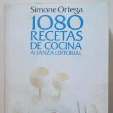 Libri di seconda mano: ORTEGA, SIMONE - 1080 RECETAS DE COCINA - MADRID 1972 - 1ª EDICIÓN. Lote 282876578