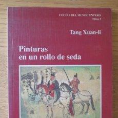 Livres d'occasion: GASTRONOMIA, LIBRO DE COCINA ORIENTAL. TANG XUAN-LI, ED. ORION 93. 1990. MUY RARO. Lote 283915908