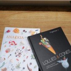 Livros em segunda mão: LIBROS DE COCINA, ANARKIA Y LOLLIES (TAPAS CONTEMPORÁNEAS) COCINA Y PASTELERIA.. Lote 286185238