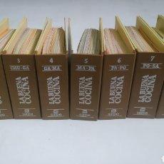 Libros de segunda mano: FICHERO SARPE LA BUENA COCINA. COLECCIÓN COMPLETA DE NUEVE FICHEROS. Lote 287979018