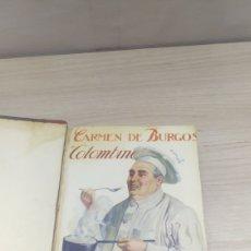 Libros de segunda mano: MANUAL DE COCINA. ¿QUIERO USTED COMER BIEN? CARMEN DE BURGOS.. Lote 288009813