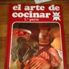 Livres d'occasion: LIBRO DE COCINA EL ARTE DE COCINAR MARÍA LUISA GARCIA. Lote 288224993