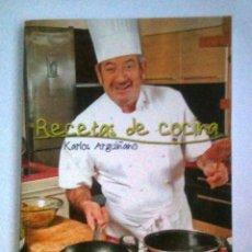 Libros de segunda mano: RECETAS DE COCINA: KARLOS ARGUIÑANO. Lote 288231438