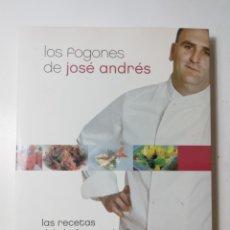 Libros de segunda mano: LOS FOGONES DE JOSE ANDRES, PLANETA. Lote 289202883