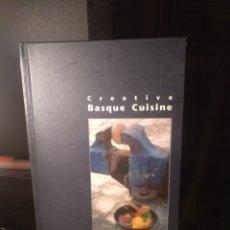 Libros de segunda mano: J. L. BARRENA CREATIVE BÁSQUE.CUISINE. PAMIELA 2000. TEXTO EN INGLÉS. Lote 289761373