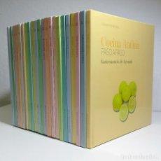 Libros de segunda mano: COCINA INTERNACIONAL PASO A PASO - EDITORIAL SOL 90 - 22 VOLUMENES - COMPLETA. Lote 289864433