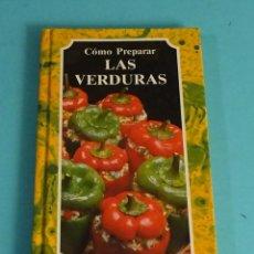 Libros de segunda mano: EL ARTE DE COCINAR. CÓMO PREPARAR LAS VERDURAS. SUSAETA. Lote 294463678