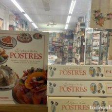 Libros de segunda mano: EL PLACER DE LOS POSTRES (4 TOMOS). A-CONFIT-033. Lote 295776928
