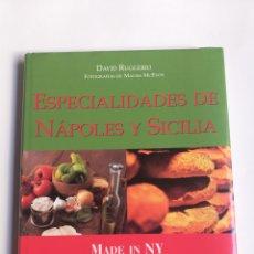 Libros de segunda mano: ESPECIALIDADES DE NÁPOLES Y SICILIA DAVID RUGGERIO. Lote 295784553