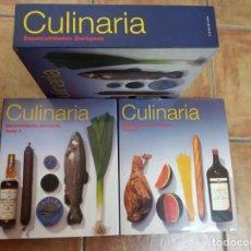Libros de segunda mano: CULINARIA - ESPECIALIDADES EUROPEAS - 2 VOLUMENES - KÖNEMANN EDITORIAL 1995. Lote 295789423