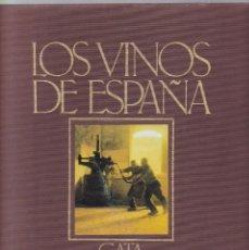 Libros de segunda mano: LOS VINOS DE ESPAÑA - CATA - EDICIONES CASTELL 1984 / ILUSTRADO. Lote 295798763