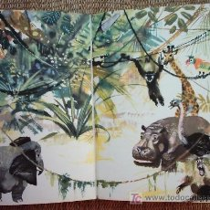 Libros de segunda mano: JANUSZ GRABIANSKI (1929-1976). ILUSTRACIONES. EL GRAN LIBRO DE LOS ANIMALES. 1961.. Lote 27416971
