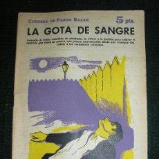 Libros de segunda mano: NOVELAS Y CUENTOS. Nº 1626. EMILIA PARDO BAZAN.. Lote 26170138