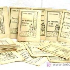 Libros de segunda mano: 36 CUENTOS CLÁSICOS EDITORIAL JUVENTUD PAPEL DE PERIÓDICO 12,5 CM X 8,5 CM. Lote 4670595