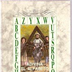 Libros de segunda mano: ADIVINA EL ALFABETO / P.J. STAHL, ILUST. T. SCHULER. MADRID : LIBERTARIAS, 1989.. Lote 26576059