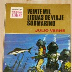 Libros de segunda mano: VEINTE MIL LEGUAS DE VIAJE SUBMARINO. DE JULIO VERNE. Lote 5226212