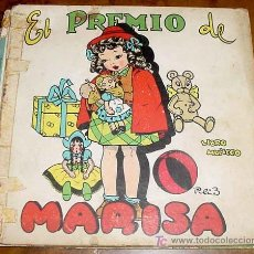 Libros de segunda mano: EL PREMIO DE MARISA - LIBRO MUÑECO - 1944 - CUENTO INFANTIL INTERACTIVO, A MEDIDA QUE SE LEE LA HIST. Lote 27301831