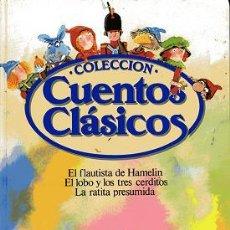Libros de segunda mano: LIBRO COLECCIÓN CUENTOS CLÁSICOS. Lote 18456572