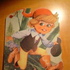 Libros de segunda mano: CUENTO TROQUELADO PULGARCITO EDITORIAL VILMAR. Lote 8030380